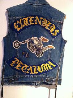 """Old School Bikers"" .... through the years.. ""Old School"" Motorcycle Club ""Colors"" / ""Cuts"" .."