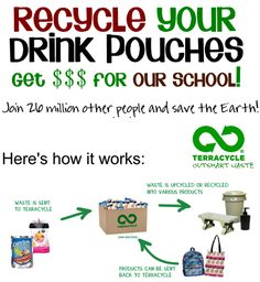 GREAT idea for recycling at school and with kids