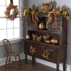 Fall / Thanksgiving decorating ideas