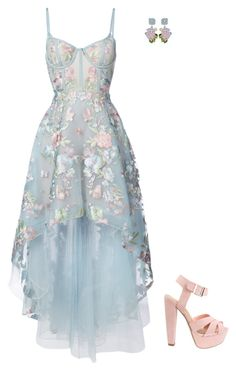 """Sem título #2261"" by lindsay-woods on Polyvore featuring moda, Notte by Marchesa e Dolce&Gabbana"