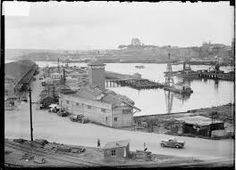 Wharves under construction at Pyrmont Bay,in Sydney in Sydney, Botany Bay, Darling Harbour, Historical Images, Historical Architecture, Under Construction, Old Photos, Paris Skyline, In This Moment