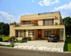 Elevation Of Pakistani House 2 Storey House Design, House Front Design, Two Storey  House