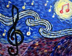 Musical starry night