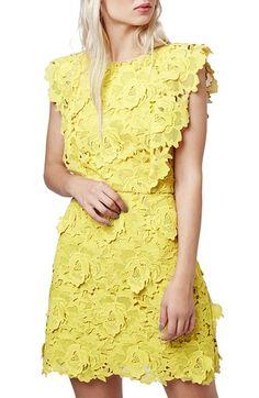 Topshop Lace A-Line Dress | Nordstrom