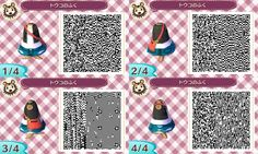 Animal Crossing: New Leaf Community - QR Codes: Kimono + All Female Pokemon Outfits