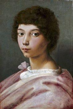 (Raphael) Raffaello Santi - Portrait of a young man