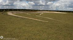 An enormous row of 90 megalithic stones has been found buried beneath the prehistoric super-henge of Durrington Walls earthworks, for something like 4,000 years old. One mile from the world-famous site of Stonehenge in Wiltshire, England.  The huge line of stones lies 3 feet underground and has just been discovered through the use of sophisticated radar equipment. The finding is believed to have been a huge ritual monument. It's truly remarkable, said Prof. Vince Gaffney, University of…