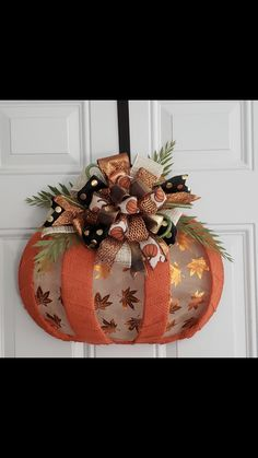 Thanksgiving Crafts, Thanksgiving Decorations, Fall Crafts, Halloween Crafts, Holiday Crafts, Dollar Tree Fall, Dollar Tree Crafts, Pumpkin Crafts, Pumpkin Wreath