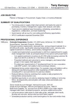 Supply Chain Resumes Pleasing Business Operations Manager Resume Template Purchase  Operations .