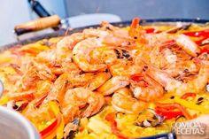 Receita de Paella especial em receitas de crustaceos, veja essa e outras receitas aqui!
