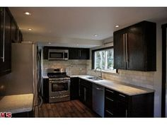 remodeled single wide manufactured home kitchen