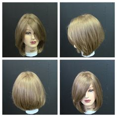 Please enjoy this haircut tutorial for a women's medium length layered haircut with a face frame. This is great for a round face shape as well as any other f...