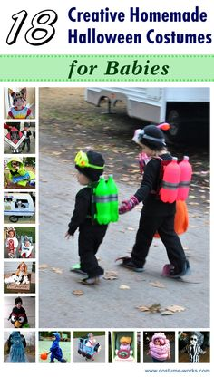 18 Creative Halloween Costumes for Babies
