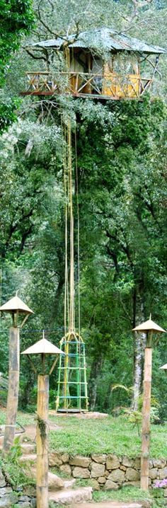 Green Magic Nature Resort | tree house | hotel | camping | nature | trees | outdoor living | vacation