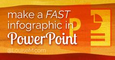 Would you like to create a PowerPoint infographic – FAST? Making one can seem daunting – but if you have PowerPoint, you've got all you need! Here's how.