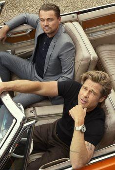 Brad Pitt, Leonardo DiCaprio and Quentin Tarantino ph. by Alexi Lubomirski for Esquire Magazine