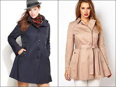 Plus Size Coats for Pear Shape