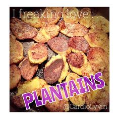 Have you ever tried plantains??? When I went to Cancun last week I tried these delicious potato-like bananas for The first time and I was HOOKED! I loved them so much that I decided to try and make some I of my own! Definitely not as good as the authentic Mexican plantains, but not too shabby!