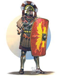 Roman centurion of the German legions, 60-90 AD