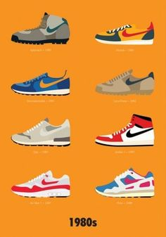 Stephen Cheetham an illustrator based in london has professed his love for Nike  Sneakers by drawing acacc064c