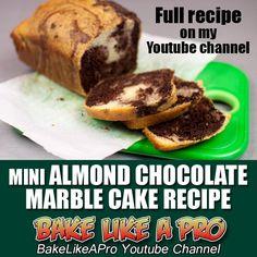 Mini Almond Chocolate Marble Cake Recipe ►►► CLICK PICTURE for video recipe