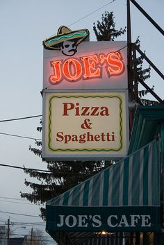 the only place to get real pizza when I was growing up...nice thin crust, tons of cheese
