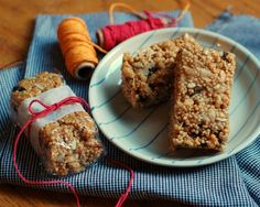 Crispy Trail Bars -- (Similar to Krispies Treats, only made with crispy brown rice cereal, quinoa crispies, brown rice syrup to bind, and other add-ins!)
