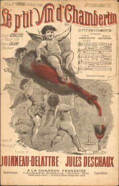 Advertising for vin d CHAMBERTIN