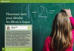 Nouveaux tests pour déceler les élèves à risque - La Presse+