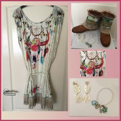 My #karmaofcharme boots combined with two great other brands: #katherinaloretta tunic (has also great scarves) and @DolceLunaWorld jewelry!!! Matchmade in heaven!! @katherinaloreta @karmaofficial @karmaboots