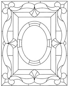 Dover Stained Glass Pattern 1