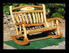"""Log Furniture by S.E. Tyler 