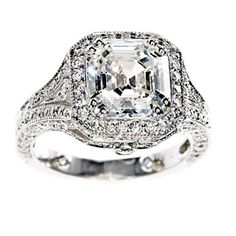 vintage engagement ring   Beautiful Antique Engagement Rings