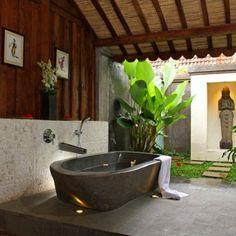 Baños exteriores, una invitación al relax - DecoIdeal