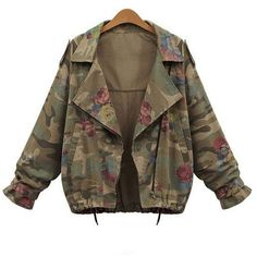 Camouflage 2xl Zip Up Plus Size Camouflage Jacket (€17) ❤ liked on Polyvore featuring outerwear, jackets, camoflauge jacket, camouflage jacket, women's plus size jackets, plus size camo jacket and plus size jackets