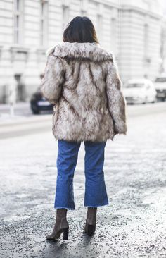Fashion Landscape | Outfit | How To Wear Faux Fur This Winter