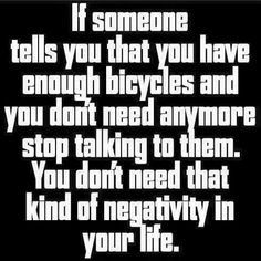 Its so true! Can never have too many!