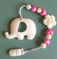 Hey, I found this really awesome Etsy listing at https://www.etsy.com/ca/listing/477112677/white-pink-baby-elephant-teether-with