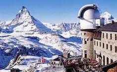 The Matterhorn, Zermatt Switzerland. I've only seen the one at Disneyland Lol I wanna see the real one!