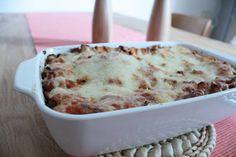 Das gekochte, von uns vorgestellte Lasagne Rezept! Bei uns hat es für zwei Auflaufformen gereicht.