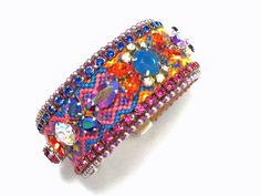 Friendship bracelet   Swarovski embellished by distinguishedesigns
