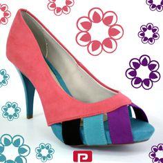#SapatoDoDia - Uma inspiração colorida dos pés a cabeça