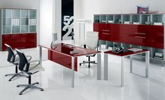 Office Furniture With Modern Desk Chair: Purchasing Modern Home Office ...