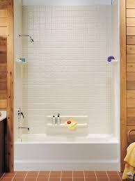 bead board around one piece fiberglass tub/shower - Google Search
