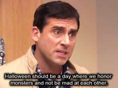 Michael Scott é o Melhor Chefe do Mundo   #halloween #diadasbruxas #frases