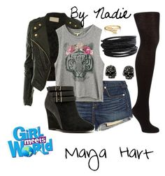 """""""Girl Meets World- Maya Hart"""" by mwahz-fashionistas ❤ liked on Polyvore"""