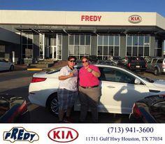 https://flic.kr/p/CCGqxn | #HappyBirthday to Veronica from Megan Lowe at Fredy Kia! | deliverymaxx.com/DealerReviews.aspx?DealerCode=OLRT