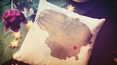 We love Lithuania #studiomarsandstars #pillowdesign #pillowdecor #handmade #handpainted #design #designer #art #artstudio #artwork #watercolor #fabricpaint #smallbusiness #interior #interiordesign #decor #decoration #homedecor #roomdecor #gift #bestgiftever #cushion #throwpillow #Lithuania #Vilnius #heart