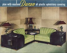 1951 Corner Seating by Duran | Flickr - Photo Sharing!