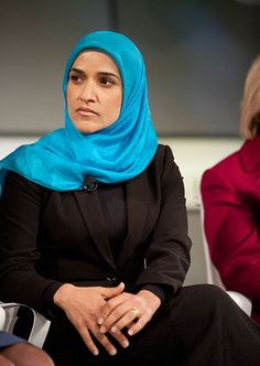 Dalia Mogahed - Egypt & USA - 2009: Mogahed is an American Muslim scholar of Egyptian origin. She is the Executive Director of the Gallup Center for Muslim Studies, a non-partisan research center that provides data and analysis to reflect the views of Muslims all over the world. She was selected as an advisor by U.S. President Barack Obama on the White House Office of Faith-Based and Neighborhood Partnerships. #womens #history #muslim #women in #politics